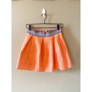 Dina B Coral Skater Skirt